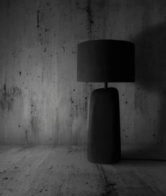 Table-floor lamp #13 ручной работы