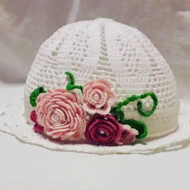 Летняя шляпка для детей ручной работы