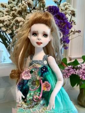 Авторская кукла Мишель ручной работы