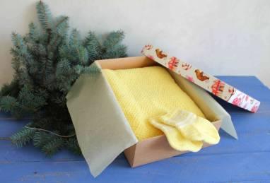 Подарок для новорожденного ручной работы