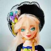 Коллекционная кукла Анушка