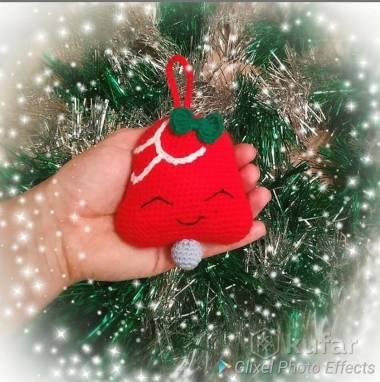 Новогодние игрушки ручной работы