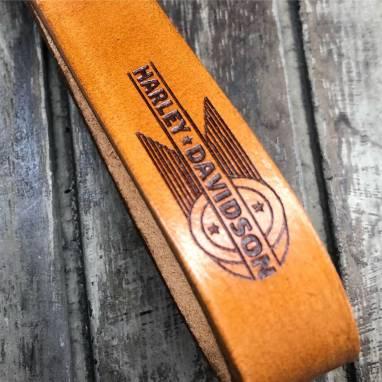 Брелок для ключей мотоцикла Harley Davidson ручной работы