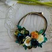 украшение с цветами  Шахерезада