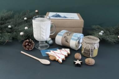 Уютный подарочный набор к новому году ручной работы