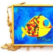 """Рамка для картины """"Рыба"""""""