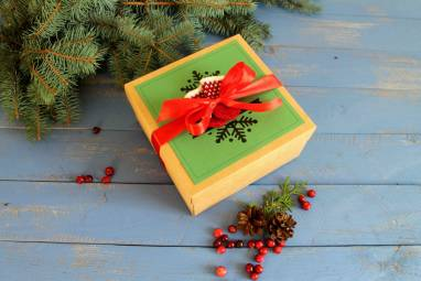 Подарок новогодний недорогой ручной работы