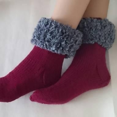 Прикольные носки ручной работы