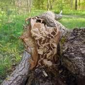 Деревянная ключница с Совой