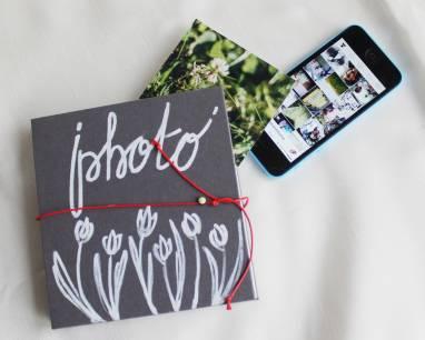 Альбом для фотографий мини Гармошка ручной работы