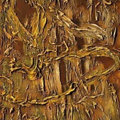 Абстракция. Растительная тема.  ручной работы
