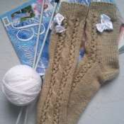 Носки вязаные ручной работы 36-38