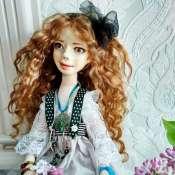 авторская кукла Николь