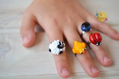 Детские колечки ручной работы