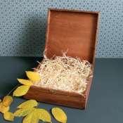 Большая деревянная коробка для подарка