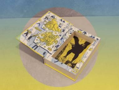 Книга-шкатулка Freakonomics ручной работы