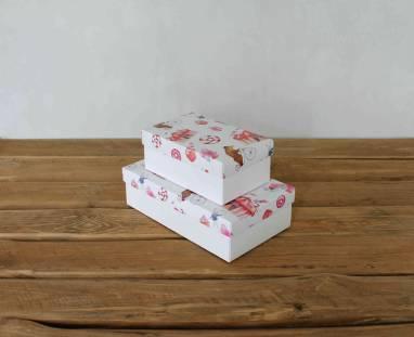 Подарочная коробка для детей ручной работы
