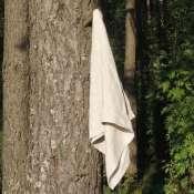 Льняное полотенце «Серебряные росы»