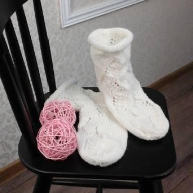 Носочки ручной работы