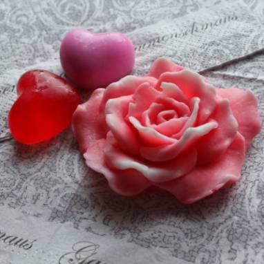 Мыло Роза ручной работы