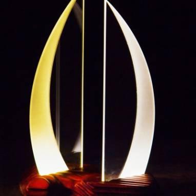 """светильник-ночник """"Древний"""" ручной работы"""