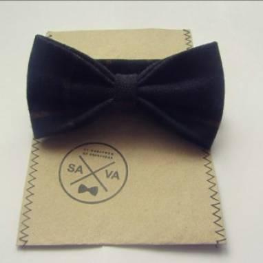 Недорогой галстук-бабочка  ручной работы