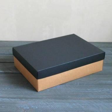 Большая подарочная коробка для мужчин ручной работы