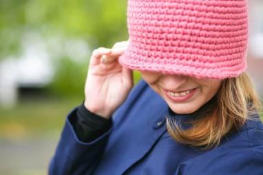Шляпка-Клош ручной работы