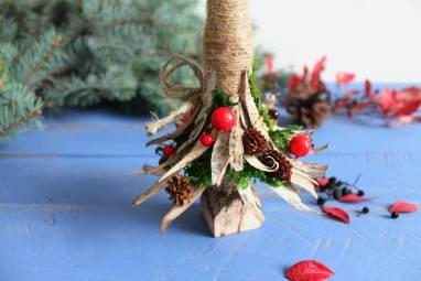 новогодняя елка ручной работы