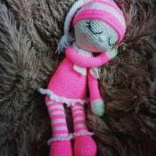 Вязаная кукла Сплюша