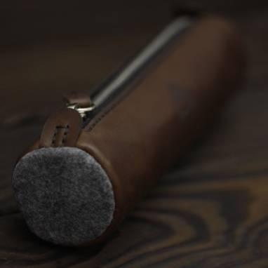 Косметичка-пенал ручной работы