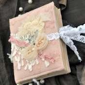 Винтажный блокнот с розами