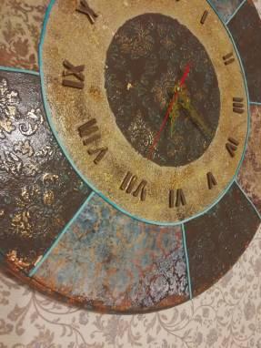 """Часы """"Вдохновение"""" ручной работы"""