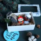 Новогодний подарок со щелкунчиком