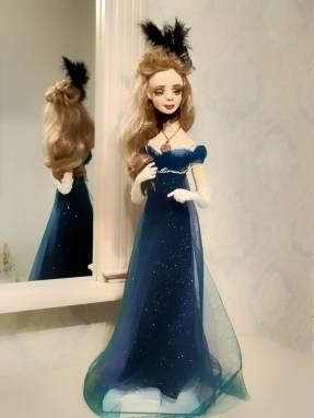 Коллекционная кукла Натали ручной работы