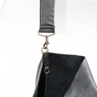 Сумка кожаная Maxi (black)