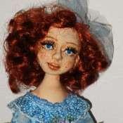 текстильная авторская кукла София