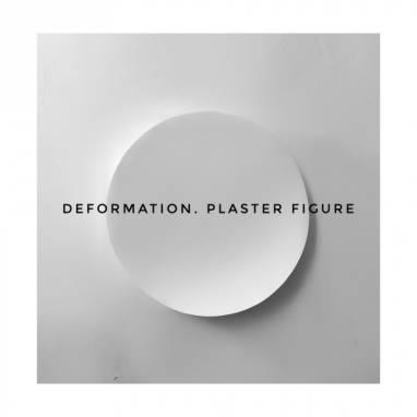 Deformation. Plaster figure #16 ручной работы
