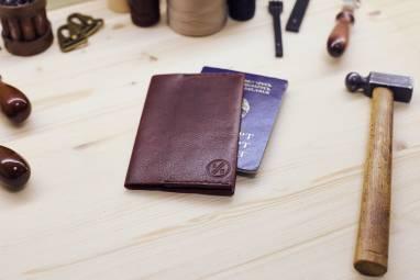 Обложка - чехол на паспорт и автодокументы. ручной работы
