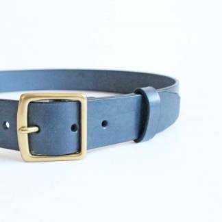 Ремень кожаный Taru (blue)