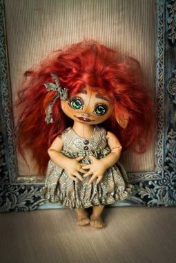 Кукла Эльф ручной работы