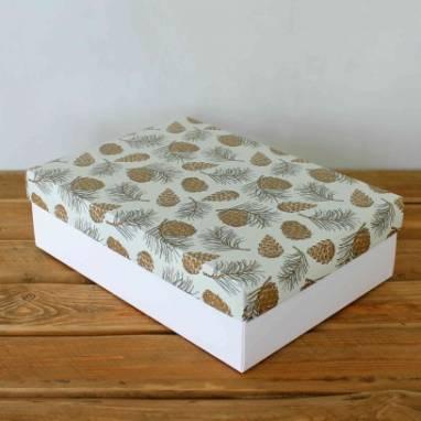 Декоративная картонная коробка ручной работы