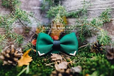 Текстильная галстук-бабочка (Bow Tie) на заказ ручной работы