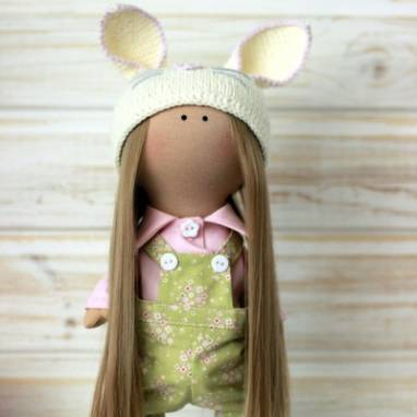 Интерьерная кукла Эмма ручной работы