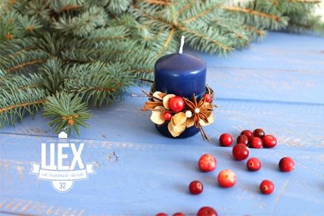 """Подарок """"Новогодняя свеча"""""""