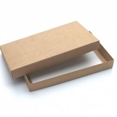 Подарочная крафт коробка ручной работы