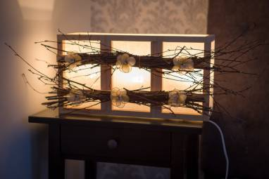 Светильник на 3 секции ручной работы