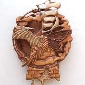 Ключница настенная деревянная Мельница души