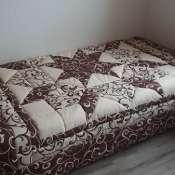 Покрывало-одеяло для 2-спальной кровати из натуральных материалов 2.1х2.1 м