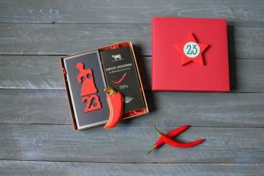 Подарок 23 февраля для коллег по работе ручной работы